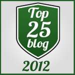 2012 Top Blogger Badge